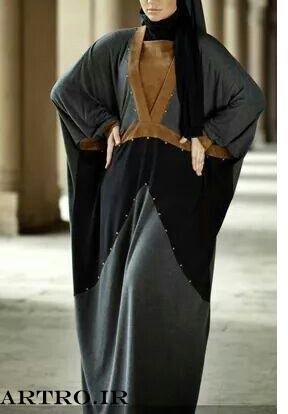 مدل عبای عربی ساده,