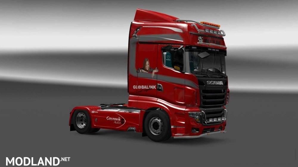 دانلود اسکین Scania R700 برای بازی euro truck simulator 2