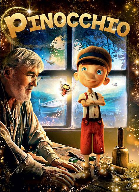 دانلود دوبله فارسی فیلم پینوکیو Pinocchio 2015