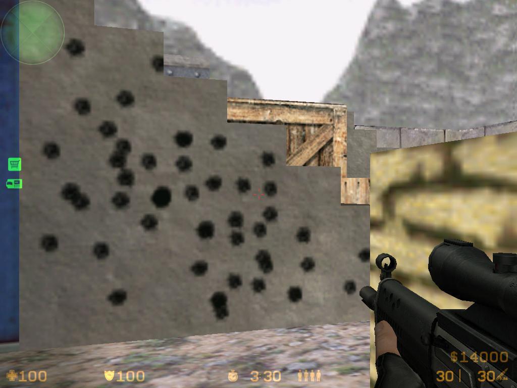 دانلود اسپرایت Bullet Holes سی اس 1.6
