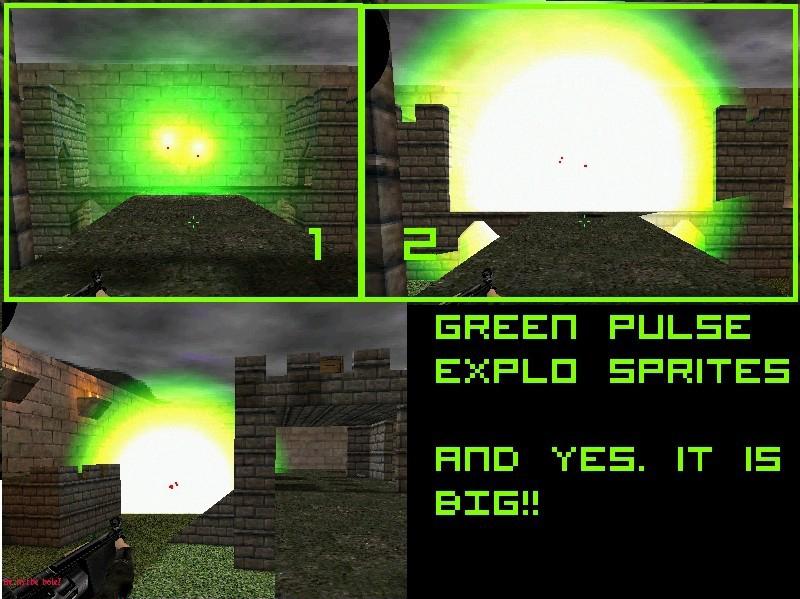 دانلود اسپرایت Explosion Effects | Green pulse برای سی اس 1.6