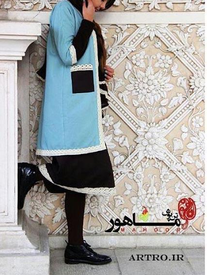 مدل مانتو سنتی دخترانه ایرانی97