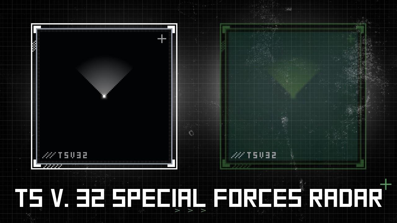 دانلود اسپرایت Radar | Special Forces Radar برای سی اس 1.6