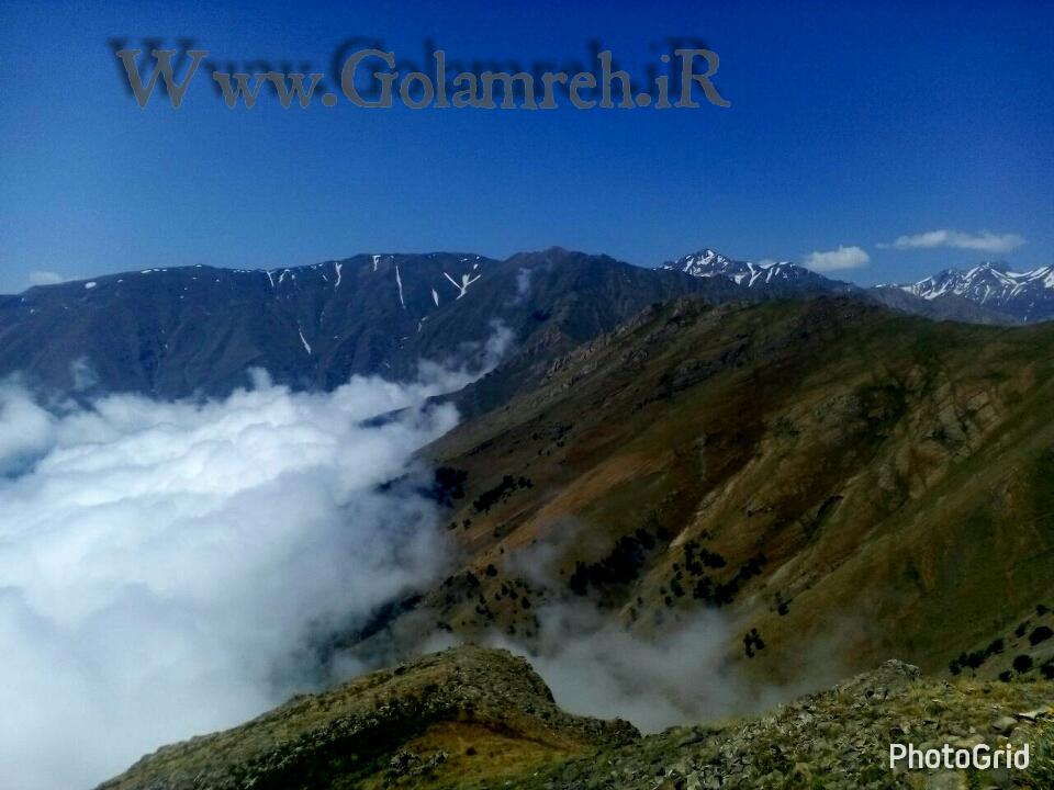 عکسهایی رویای از ارتفاعات دهکده ییلاقی گلامره