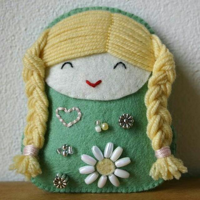کانال تلگرام آموزش ساخت عروسک نمدی