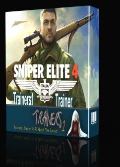 دانلود ترینر بازی Sniper Elite 4 نسخه Fling