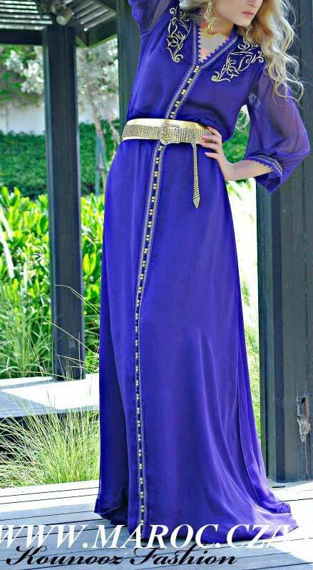 مدل لباس عروس مراکشی,