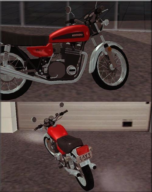 دانلود اسکین موتور ایرانی HONDA-CG برای GTA SA