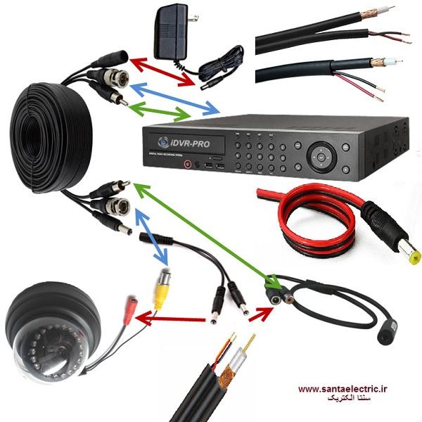 کابل برق در سیستم های مداربسته