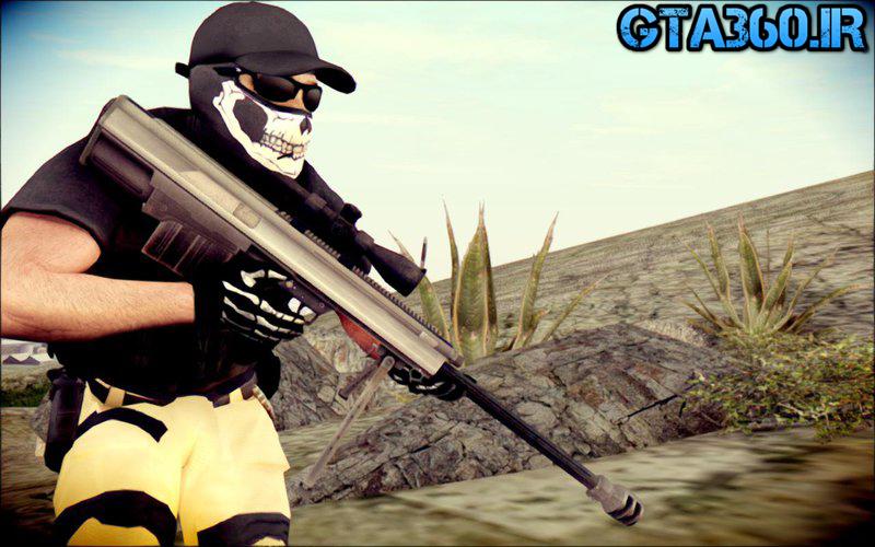 اسلحه xm500 برای gta sa