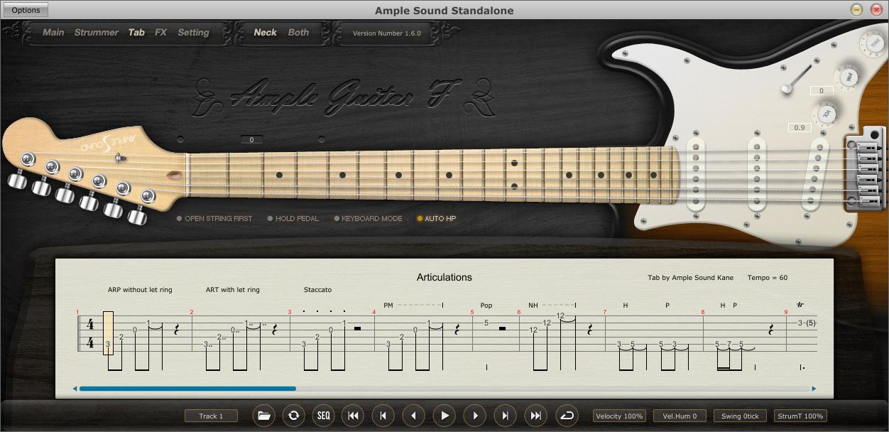 دانلود رایگان وی اس تی گیتار الکتریک Ample Sound AGF2