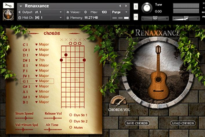 دانلود رایگان وی اس تی گیتار نایلون Indiginus – Renaxxance Nylon String Guitar