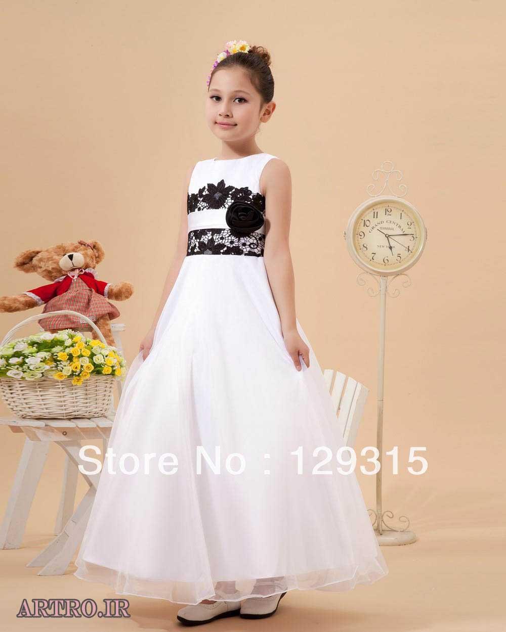 مدل لباس عروس دختربچه 2018