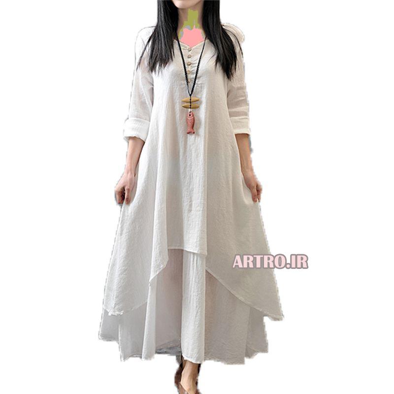 مدل مانتو نخی کره ای 2018