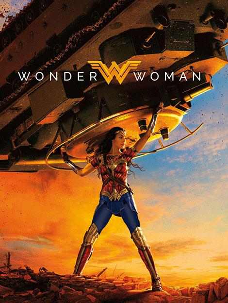 دانلود فیلم زن شگفت انگیز Wonder Woman 2017