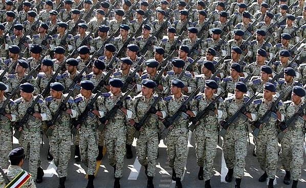 رتبه قدرت ارتش ايران در بين ارتش هاي كشورهاي جهان