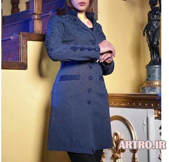مدل مانتو کتی مجلسی بلند