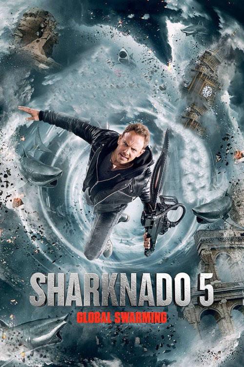 دانلود رایگان فیلم Sharknado 5 2017 با کیفیت BluRay 720p