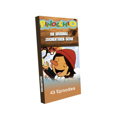 خرید اینترنتی سی دی کارتون پینوکیو با کیفیت عالی