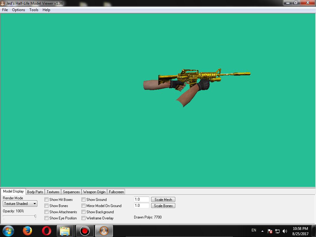 دانلود پلاگین Golden M4A1 برای کانتر استریک 1.6