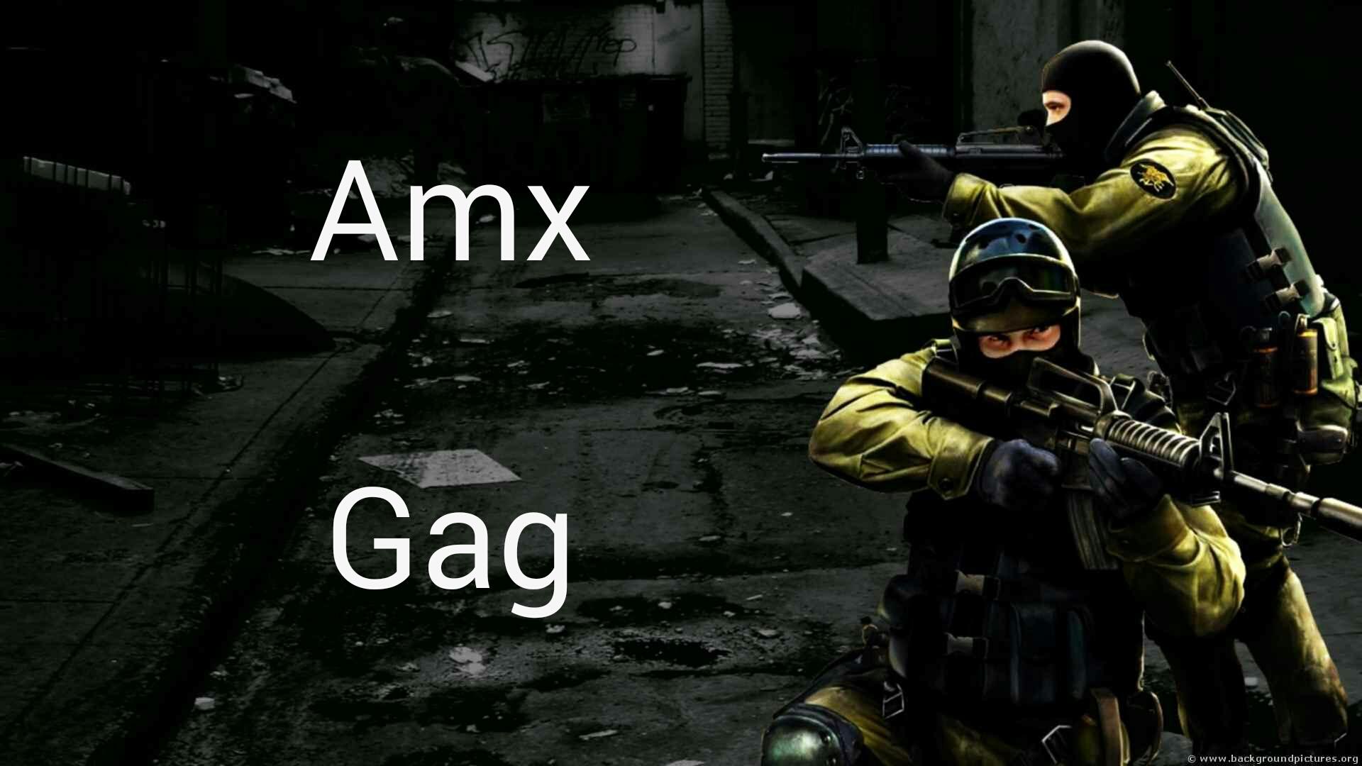 دانلود پلاگین Amx Gag برای کانتر استریک 1.6
