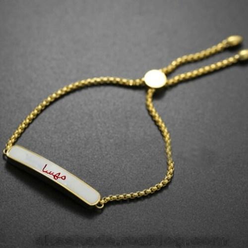 طرح دستبند اسم مهسا - عکس کده