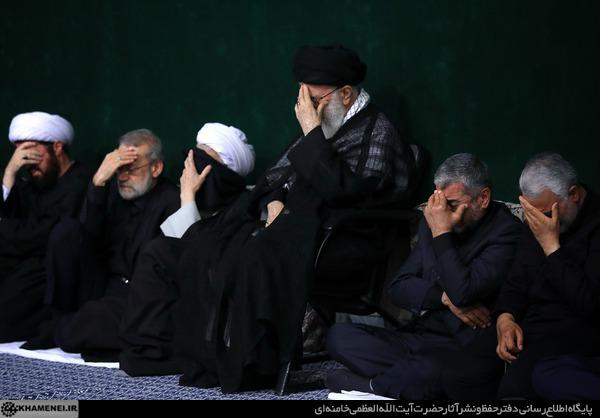 شب عزاداری ایام محرم ۱۴۳۹ در حسینیه امام خمینی