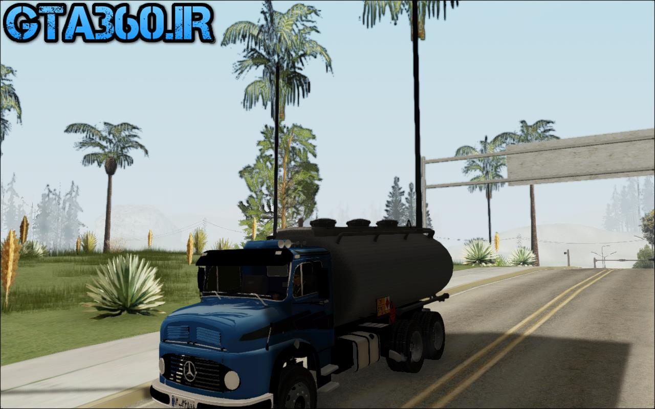 کامیون خاور1113 برای gta sa