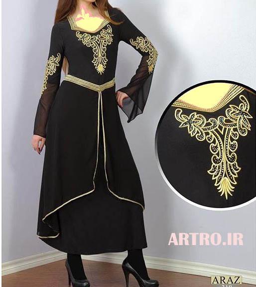 مدل لباس مجلسی مشکی شیک 2018