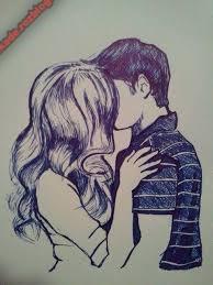 نقاشی دختر پسر7