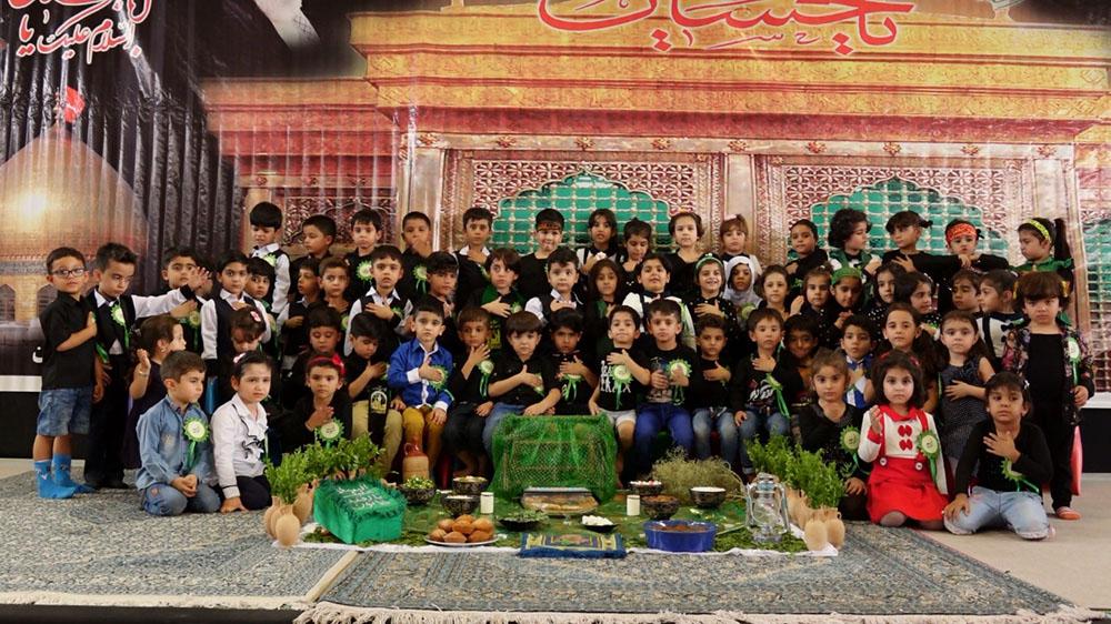 مراسم عزاداری به مناسبت شهادت حضرت رقیه علیها السلام تاریخ 96/07/05