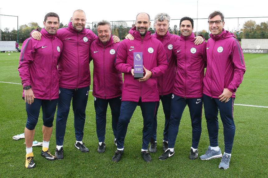 گواردیولا  بهترین مربی ماه لیگ برتر
