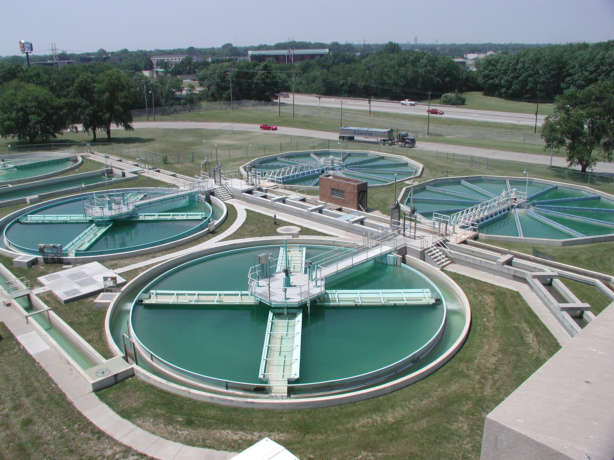 مراحل تصفیه آب دوم ابتدایی