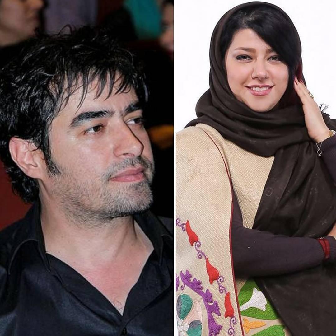 شهاب حسینی همراه همسرش