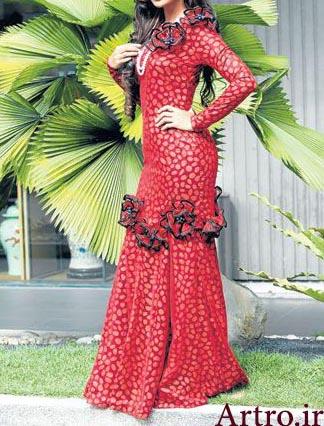 مدل لباس مجلسی بلند جدید97