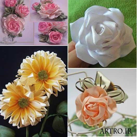 آموزش چند مدل گل روبانی