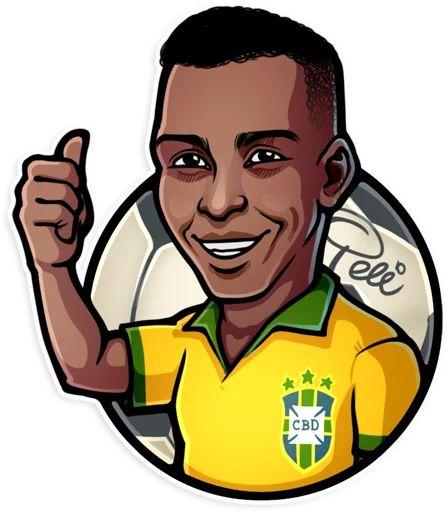 استیکرهای تلگرام برزیل