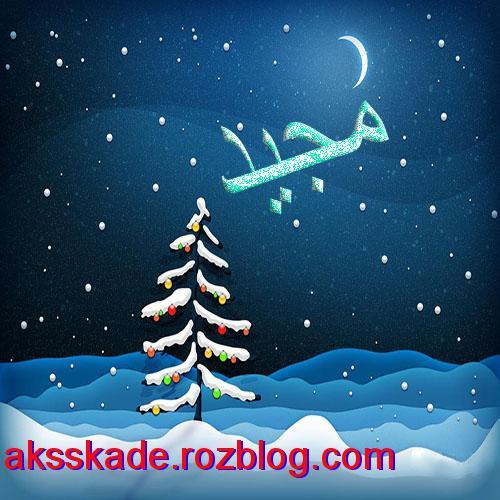اسم زمستانی مجید- عکس کده