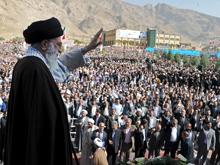 دیدار دانشجویان کرمانشاه با رهبر انقلاب