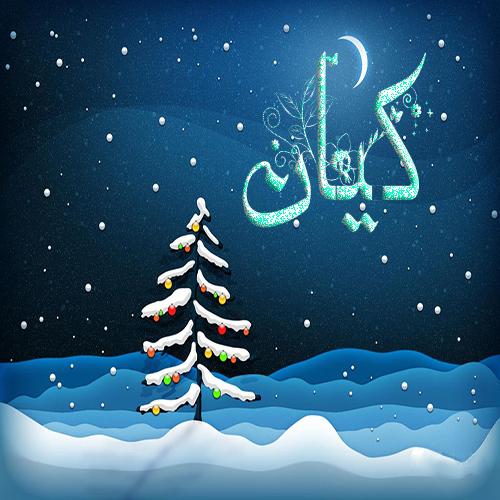 اسم زمستانی کیان- عکس کده