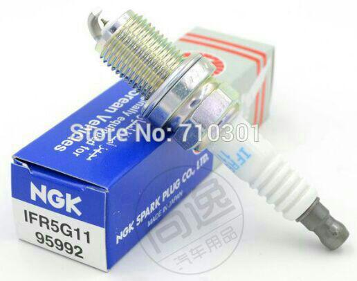 شمع NGK لیزر ایریدیوم جعبه آبی اصلی ژاپنی