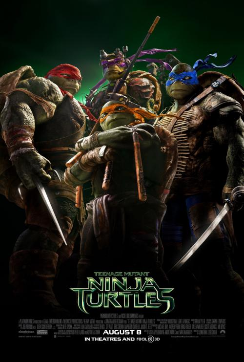 دانلود رایگان لاکپشت های نینجا 1 (2014 ) دوبله فارسی