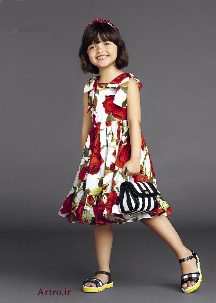 جدیدترین لباس تابستانی دختربچه