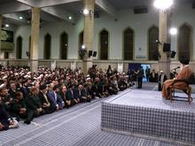دیدار اعضای شورای هماهنگی تبلیغات اسلامی با رهبر انقلاب
