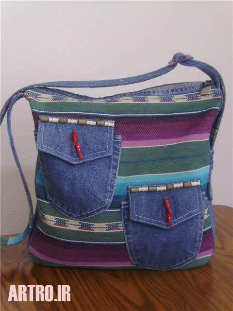 آموزش دوخت کیف لی زنانه