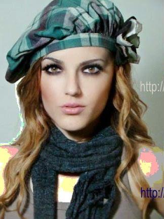 چند مدل کلاه پارچه ای زنانه با الگو