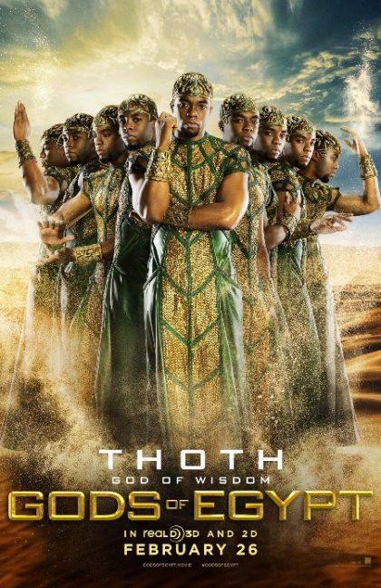 دانلود فیلم خدایان مصر Gods of Egypt 2016