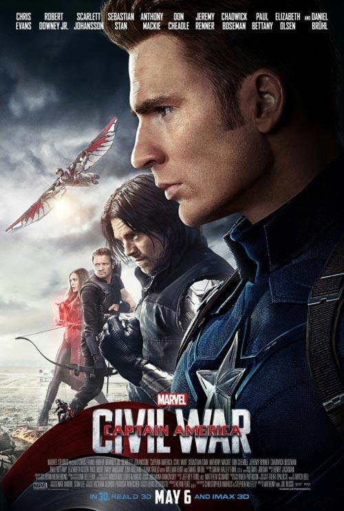 دانلود فیلم Captain America 3 Civil War 2016