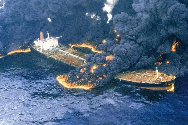 نفتکش سانچی به صورت کامل غرق شد ایران تسلیت