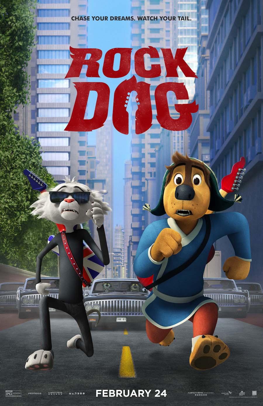 دانلود انیمیشن 2017 Rock Dog